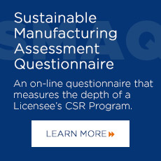 Sustainable Manufacturing Assessment Questionnaire